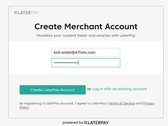 Cursor and LaterPay 2