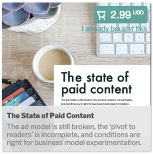 Downloadable Content Example: The state of paid Content $2.99