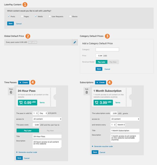 WordPress Plugin Pricing Tab