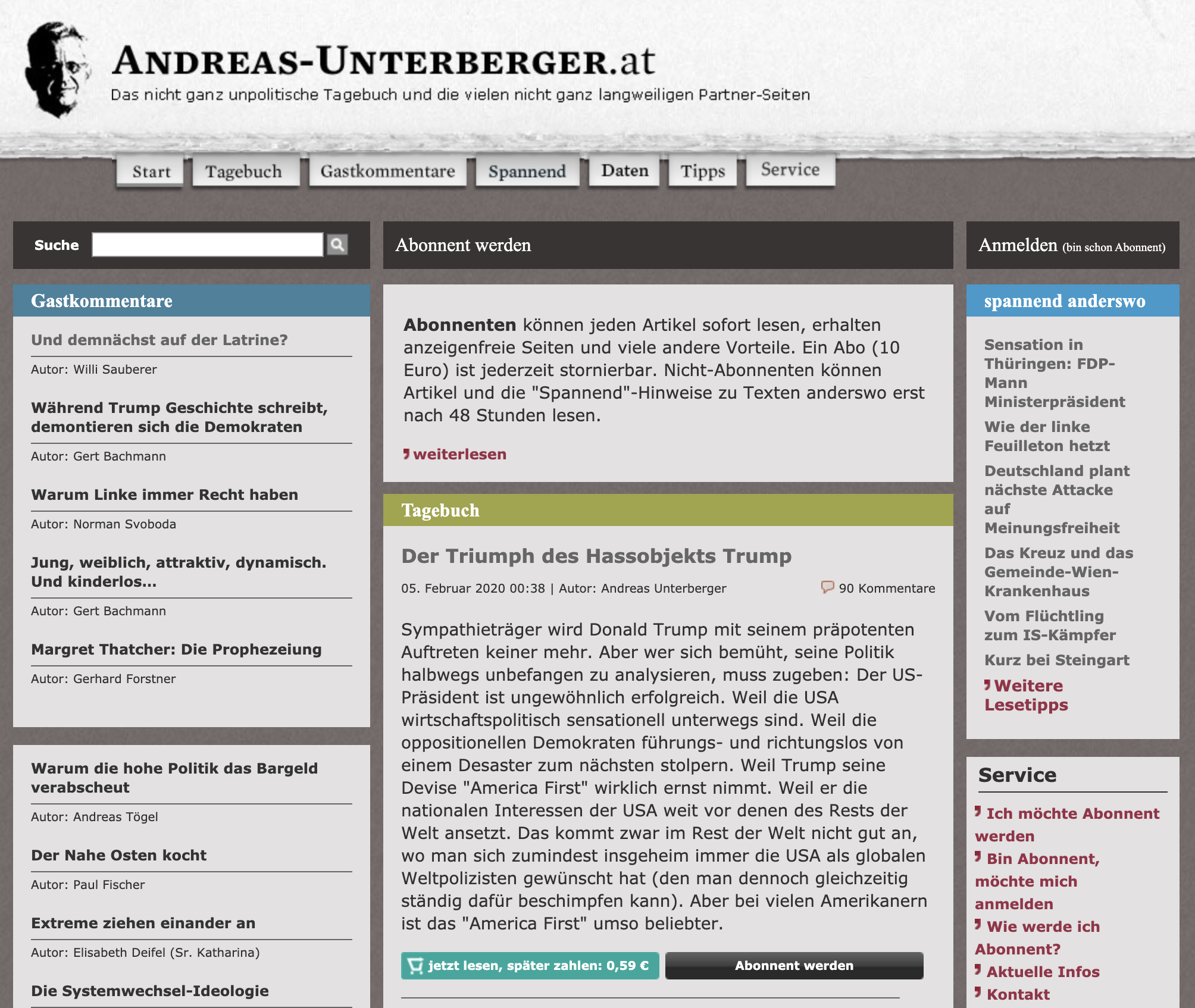 Screenshot full Andreas Unterberger