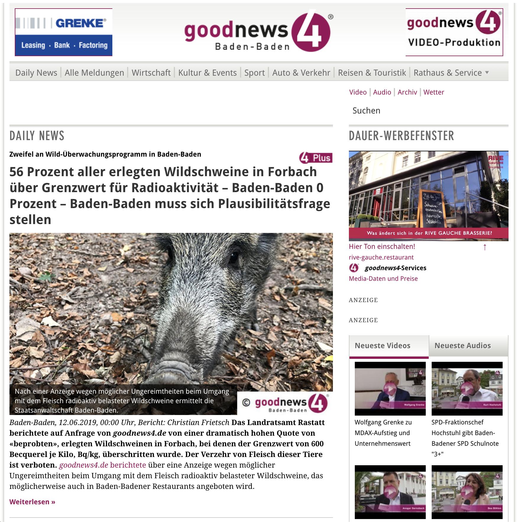 goodnews4 start page