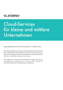 Cloud-Services für kleine und mittlere Unternehmen