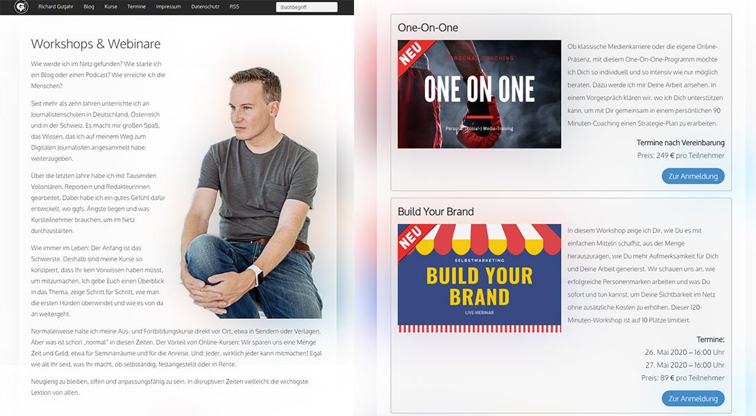 Hochwertige eLearningformate erfolgreich verkaufen - Richard Gutjahr zeigt mit LaterPay wie es geht